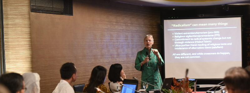 Indonesia's Top Radicalism Experts Highlight How Philanthropists Can Forge and Foster Bridges of Tolerance