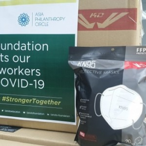 20200522_Inside RGE<br/><h6>Tanoto Foundation Donates PPEs To Help Singapore's Migrant Worker Community</h6>
